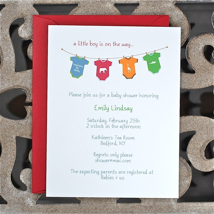 Baby shower invitations baby boy invitation onesies baby zoom filmwisefo Image collections