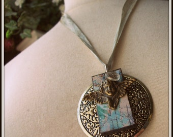 Vintage Angel Necklace