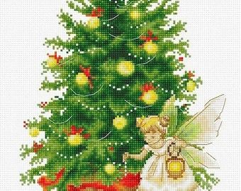 Christmas Tree SB1117 - Cross Stitch Kit by Luca-s