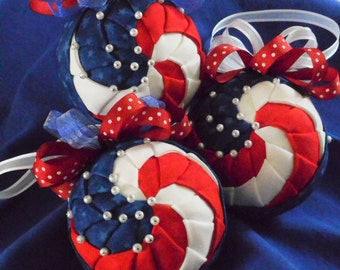 Stars and Stripes. Pearls and Swirls.