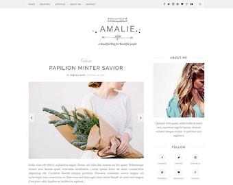 Amalie - A Flawlessly Minimalist Blogging Wordpress Theme
