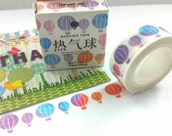 Hot Air Balloon Washi Tape (7M)