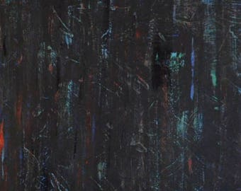 Original Modern Abstract Painting, Black Modern Art, Abstract Painting on Canvas