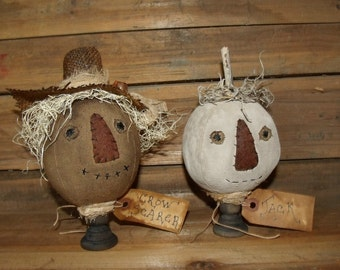 My Primitive JACK and the CROW SCARER make-do's Pattern