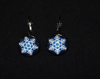 Earrings snowflake earrings