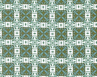 SALE  Jamie in Cypress from Color Brigade by Jennifer Paganelli 1 yard   YES!!! Continuous fabric cuts and combined shipping