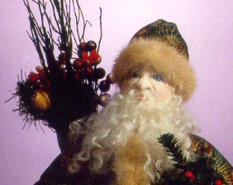 MW460E - Father Christmas PDF - Download Cloth Doll Making Sewing Pattern