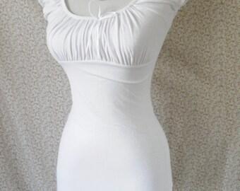 White peasant blouse -size XS