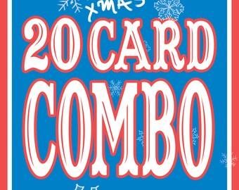 20 CARD COMBO!