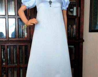 Satin Regency Gown