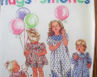 Simplicity Vintage Girls Outfits Pattern