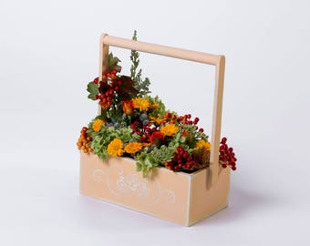 Flower|box Gift|box Baskets|bowls Basket|stand Gift|for|woman Housewarming|gift Home|gift|idea Wedding|decorations Flowers|home|decor