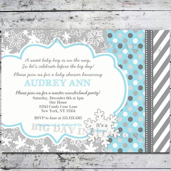 winter party invitation wording