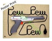 Nintendo Zapper Gun Poste...