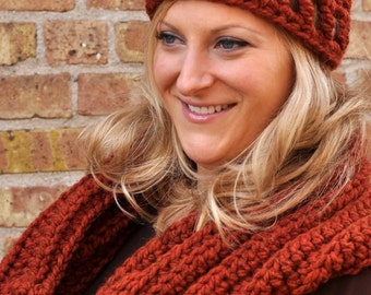 Infinity Scarf and Hat