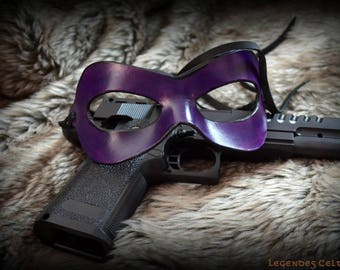 The movie kick ass hitgirl leather mask