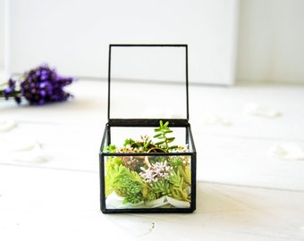 NEW!!! Small Wedding Ring Holder / Copper Wedding Ring Box / Summer Wedding / Copper Jewelry Box