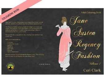 Jane Austen Regency Fashion Colouring Pages/Book
