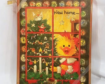 Vintage Suzy's Zoo Christmas Cards, Set of 18, New Home For Christmas, 1992