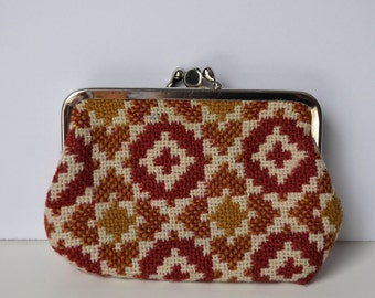 1970's Welsh Wool Coin Purse