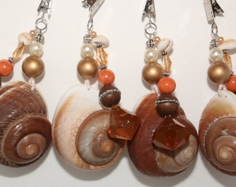 Sea Shells Tablecloth Weights Set of 4