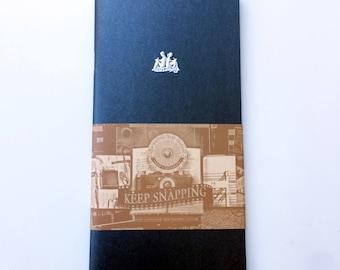Keep A Notebook A5 Slim Black Paper Notebook 17