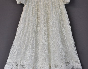 Your Wedding dress into Christening Gown Princess Style