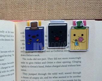 Magnetic Bookmarks • BOOKS! BOOKS! BOOKS! Pt. 2