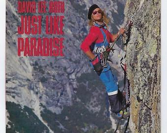 David Lee Roth - Just Like Paradise / The Bottom Line - 45rpm - 1987