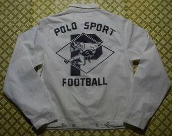 Vintage Polo Sport Football Jacket S