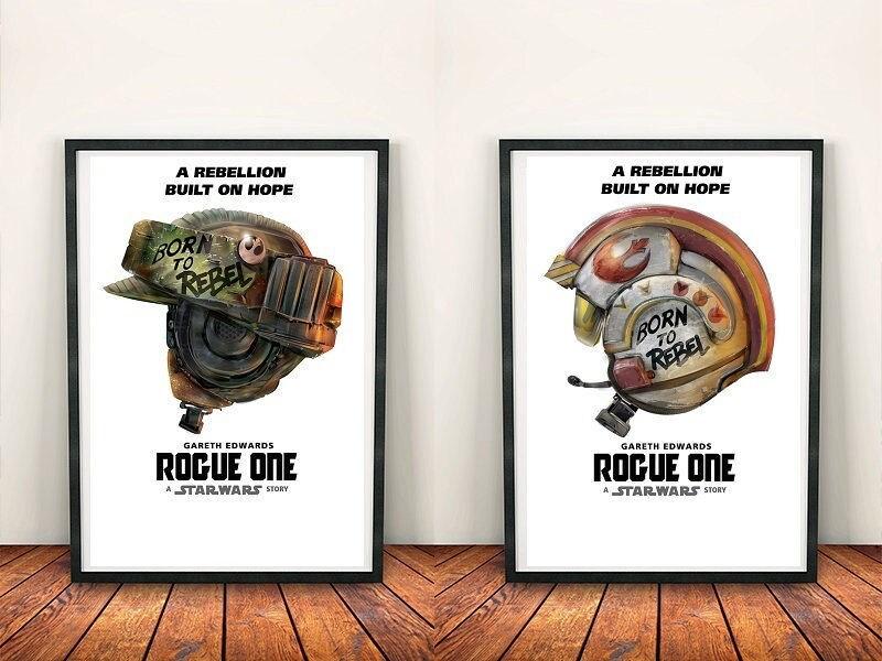 Star Wars Rogue ein Poster Art-Set: Film Poster Film Poster