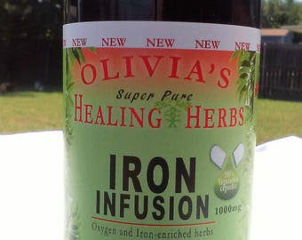 Dr. Sebi inspired- IRON INFUSION (60CT)