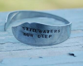 still waters run deep