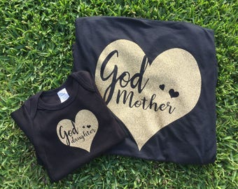 Godmother/daughter Matching Set