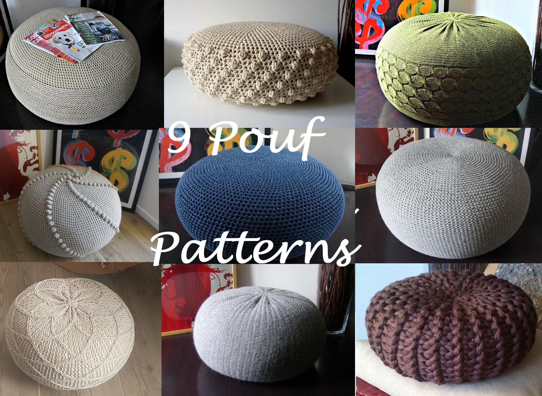Häkeln Sie Muster stricken Muster gestrickt 9 & Häkeln Puff