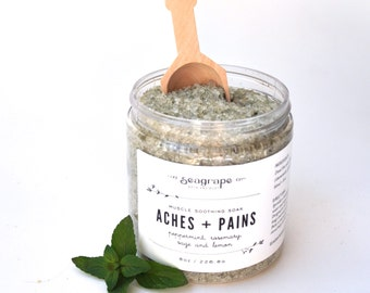 Aches and Pains Dead Sea Salt Bath