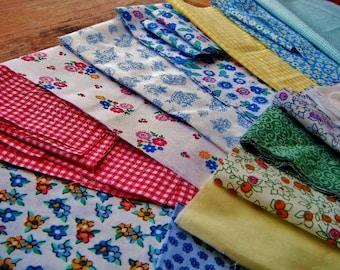 Fabric Scrap Pack -Brights