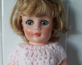 "Vintage Uneeda Tiny Teen Suzette Doll 10"" 1950's Sleepy Eyes"
