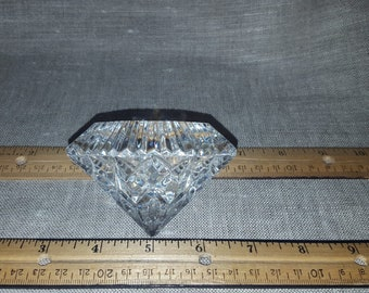 Waterford Diamond-Shaped Paperweight