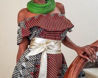 Light Gold Leather Tulip Tie Obi Belt | Waist Belt | Obi belt |Leather Belt| Plus Size Belt | Bridesmaids belt | Pin up dresses belt