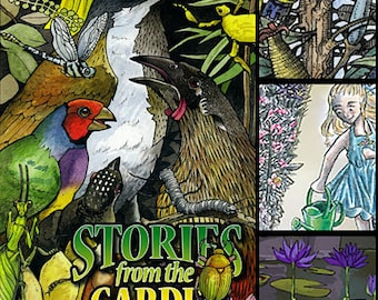 Scribble Vol 2 - Stories from the Garden graphic novel comics anthology, featuring 7 artists