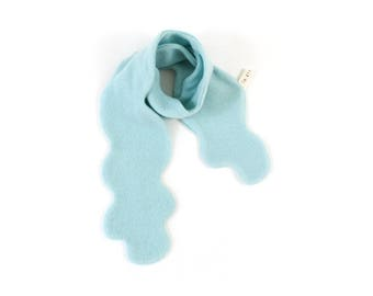 Cloud Scarf - soft knitted wooly scarf, winter knit scarf, kids childrens scarf