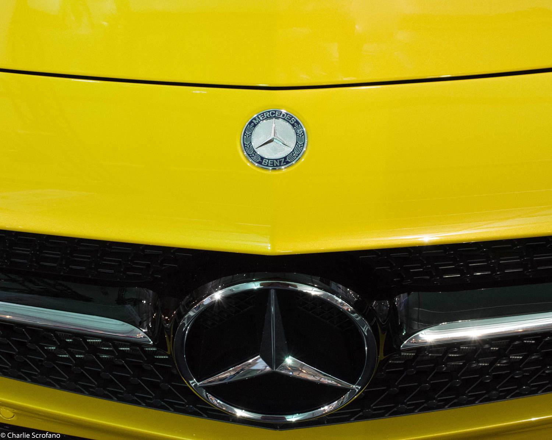 Mercedes Benz Photo Yellow Benz 8 x 10 Digital Download
