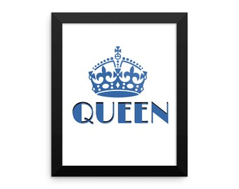 Queen - Photo Framed photo