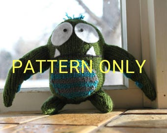 PATTERN Henry the Knitted Tentacle Monster