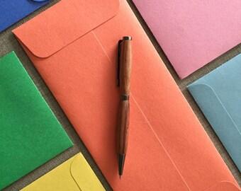 "Fun Envelopes!  Letter Size - 9 1/2"" x 4 1/8"" (24.13 cm x 10.4775 cm) Choose your Color - 100% Recycled"
