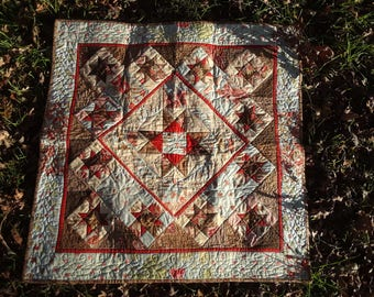 Quilt, wall or table-top , art Quilt