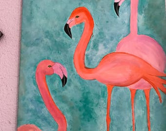 les flamands rose
