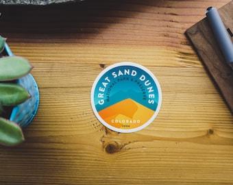 Vinyl Sticker - Great Sand Dunes