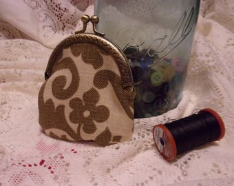 vintage style handbag / coin purse